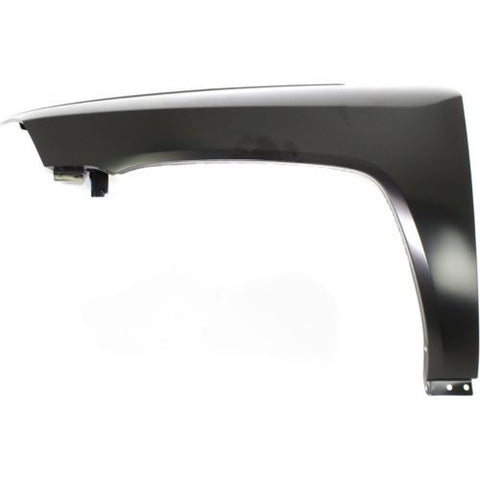 2007-2010 Jeep Compass Fender LH, Steel - CAPA