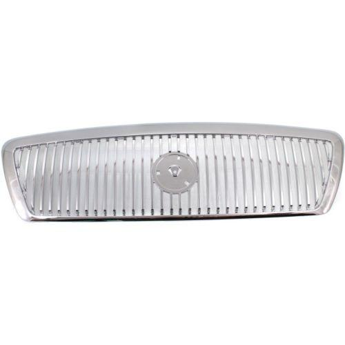 2003-2005 Mercury Grand Marquis Grille, Chrome