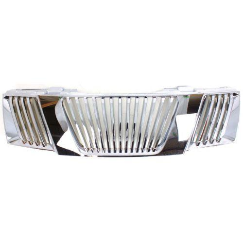 2005-2008 Nissan Frontier Grille, Chrome
