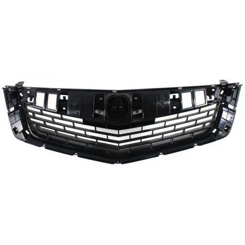 2009-2010 Acura TSX Grille, Painted-Black