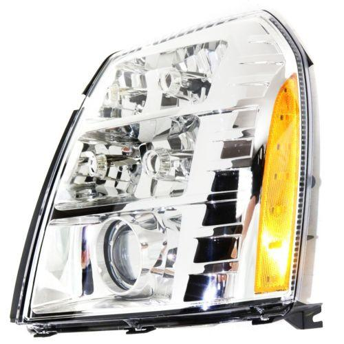 2007-2009 Cadillac Escalade Head Light LH, Assembly, Hid, With Hid Kit
