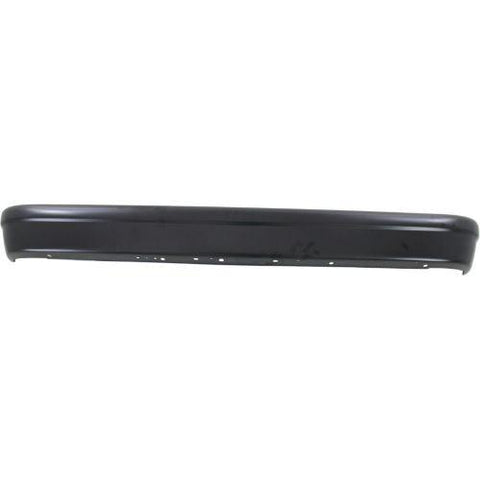 1992-2014 FORD ECONOLINE VAN REAR BUMPER, Painted-Black