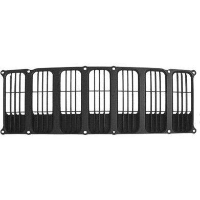 2007-2010 Jeep Patriot Grille Black