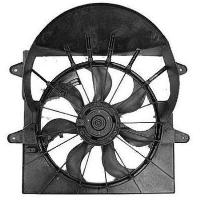 2006-2007 Jeep Commander Radiator Fan Assembly