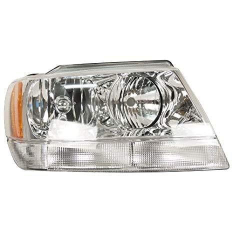 1999-2004 Jeep Grand Cherokee Headlamp RH