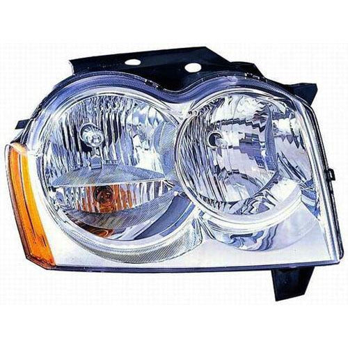 2005-2007 Jeep Grand Cherokee Head Lamp RH