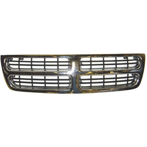 1998-2003 Dodge Van (Full-Size) Grille Chrome/Black