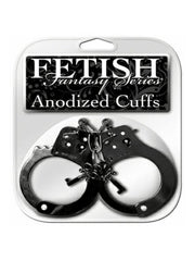 Anodized handcuffs black - Randy's Adult World