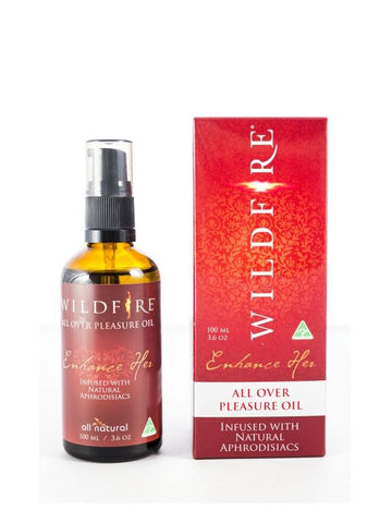 wildfire oil red aphrodisiac