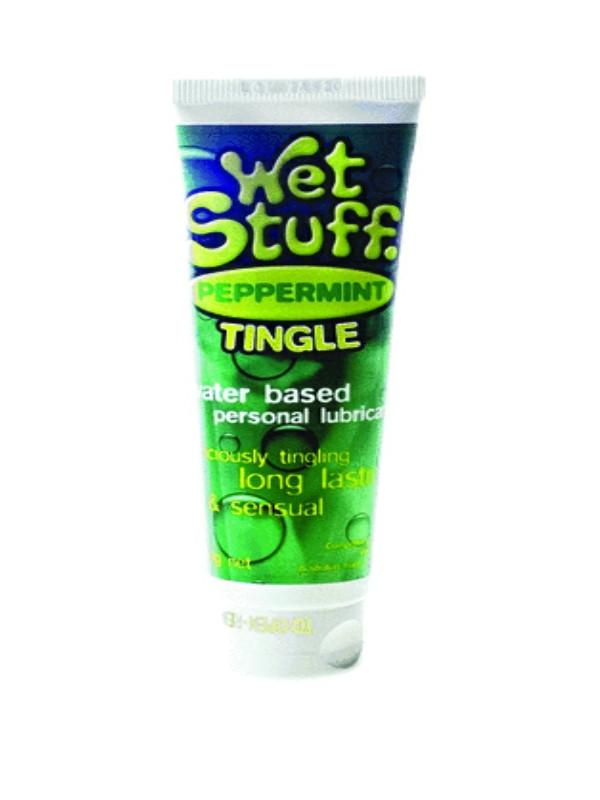 Wet Stuff Peppermint Tingle - Default Title - Passionzone Adult Store