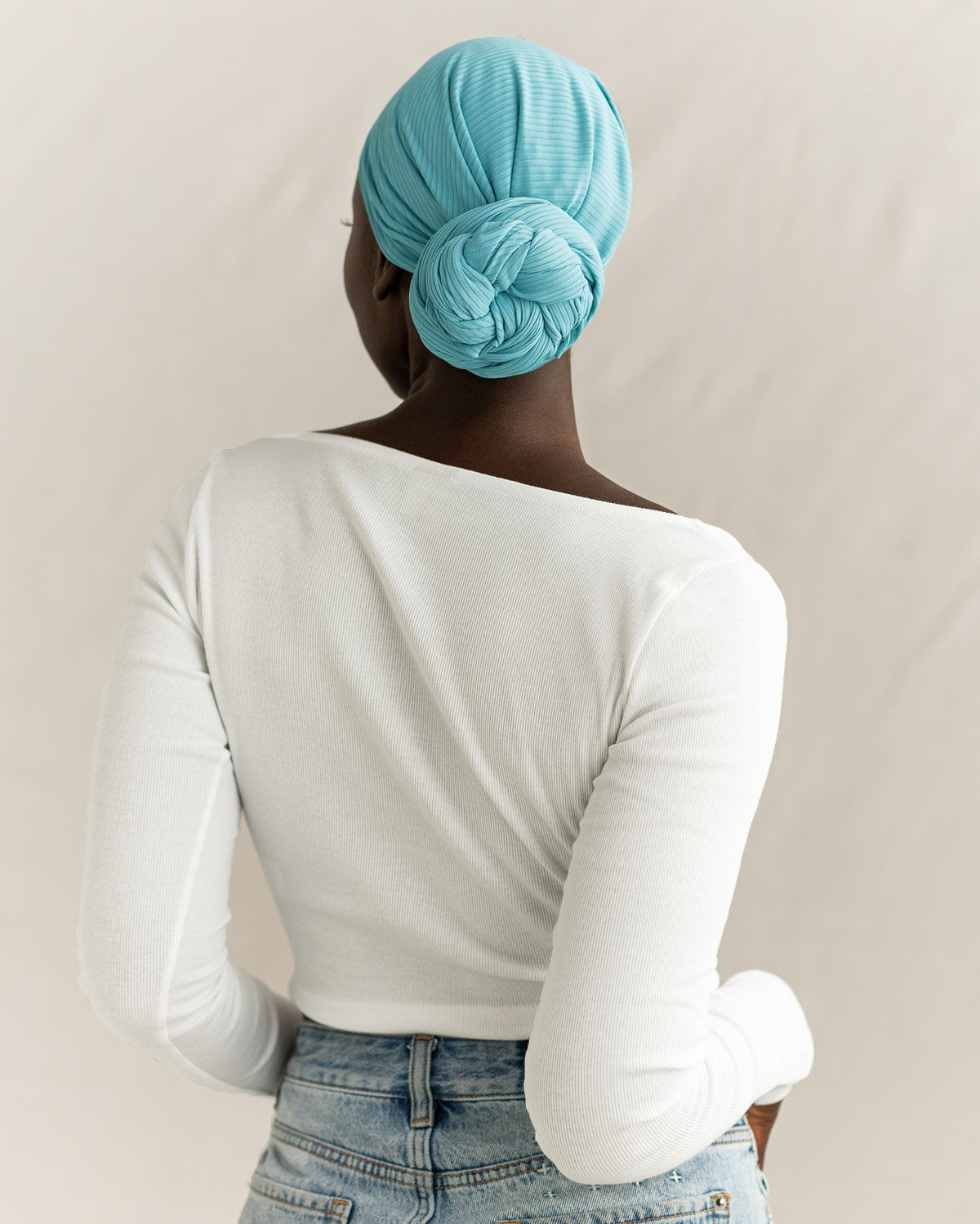 Back Twist Bun
