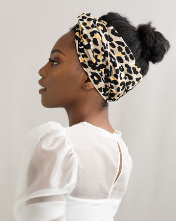Sazza Leopard Head Wrap
