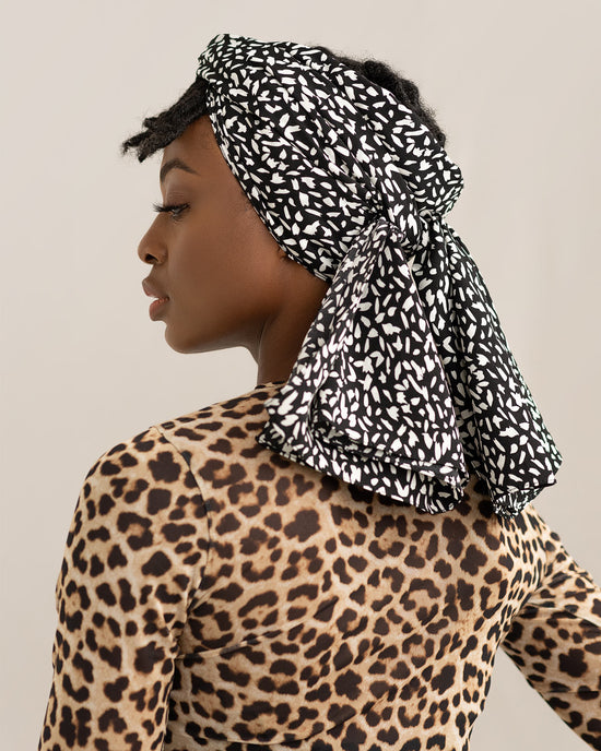 Calla || Black Head Wrap