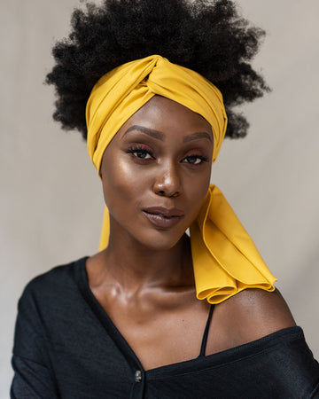 Citrine Head Wrap