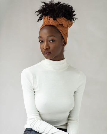 Kola Ribbed Stretch Head Wrap