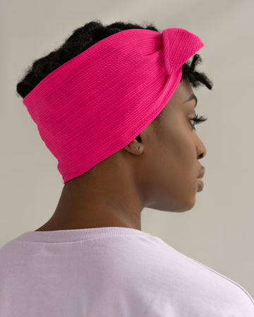 Fuchsia | Satin Lined Bandie