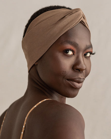 Ash Brown Turbanette