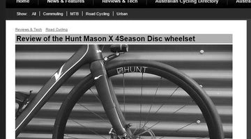 Bicycles.net.au Review - MASON x HUNT 4 Season Disc Wheelset