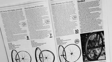 Cycling Weekly Magazine Nov 2016 - Winter Wheels Best In Test 10/10 - HUNT 4 Season Aero Wheelset