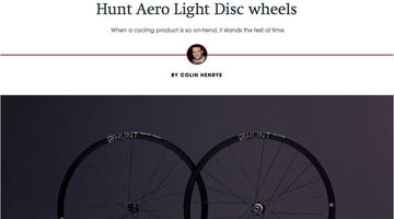 RCUK 100 - HUNT Aero Light Disc Wheelset
