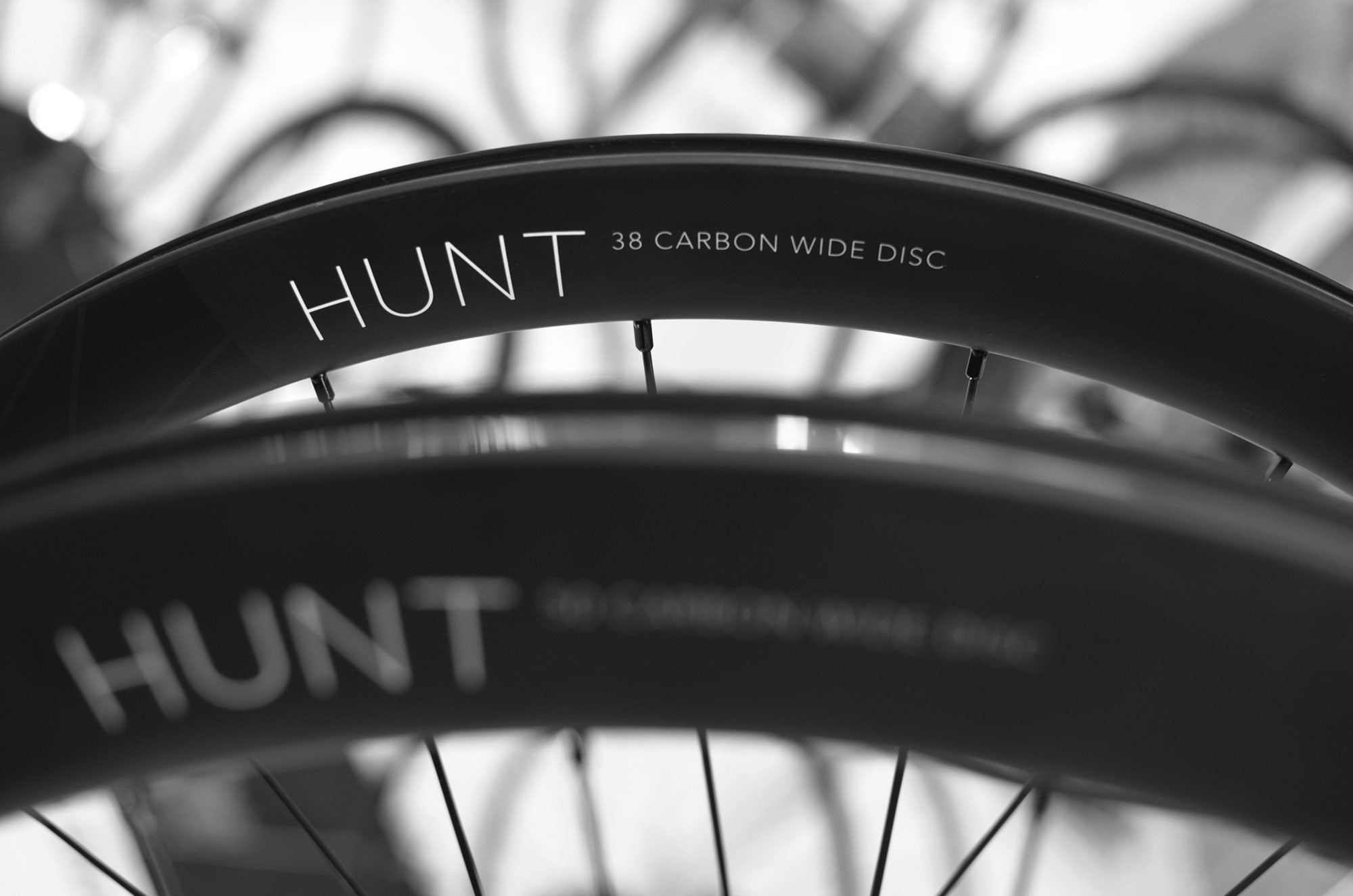 Hunt 38 Carbon Wide Disc Rim