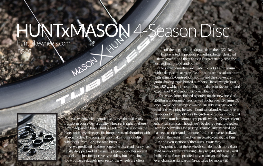 London Cyclist Mason x Hunt 4 Season Disc review