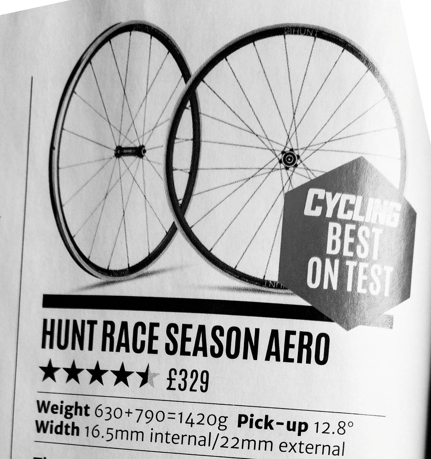 HUNT RACE AERO Road Wheelset Cycling Plus Review