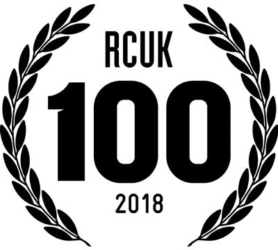 Road Cycling UK 100 2018 Logo