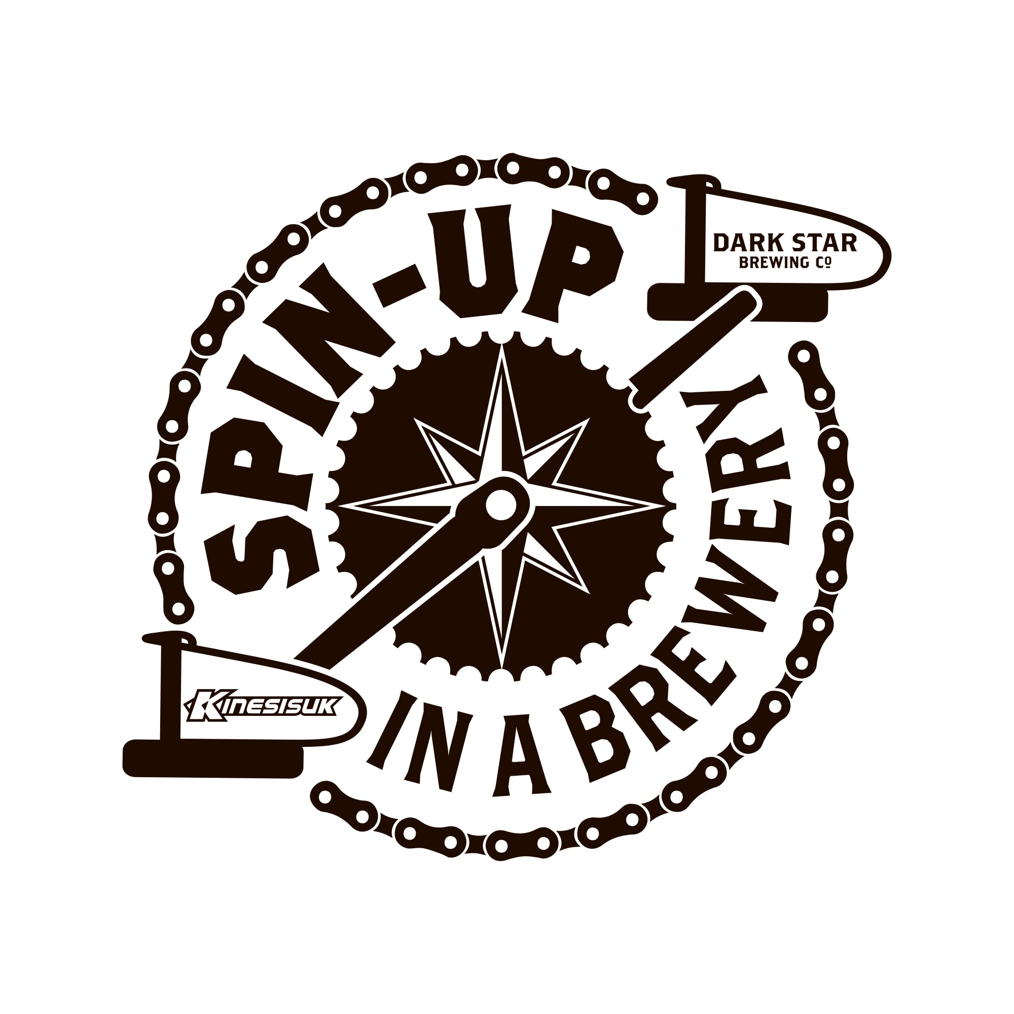 Spin up in a Brewery Logo