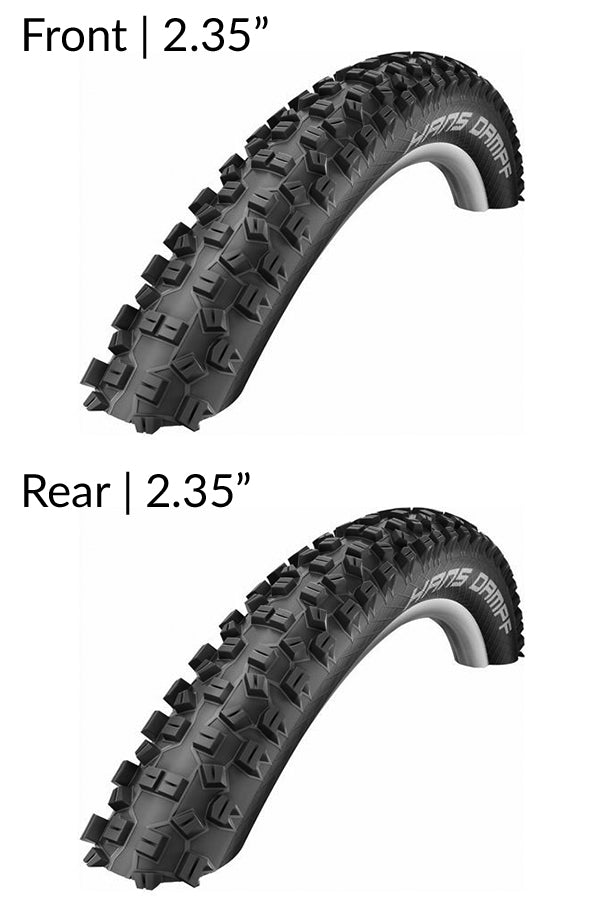 Schwalbe Hans Dampf Snake Skin Tubeless Tyres