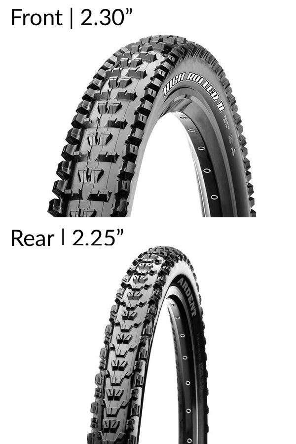 Maxxis High Roller II and Ardent Tubeless Tyres Combo