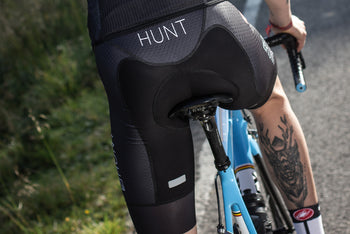 <h1>Free Aero Race Bib Shorts</h1><i>Forza fabric on inner legs with 38% Lycra® content for perfect fit</i>