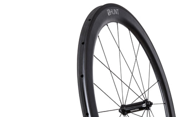 Nearly New HUNT Team 5580 Carbon Wide Tubular Wheelset