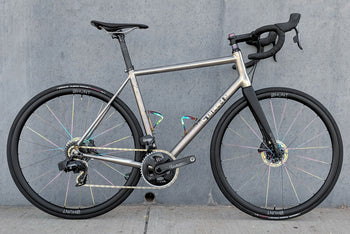 <h1>Dream Build with Oil-Slick Spokes</h1><i>J Guillem Orient with SRAM Force eTap AXS</i>
