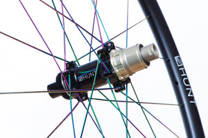 Freehub BodyDurability is a theme for Hunt as time and money you spend fixing is time and money you cannot spend riding or upgrading your bikes. As a result all our freehub bodies have Steel Spline Insert re-enforcements to provide excellent durability against cassette sprocket damage often seen on standard alloy freehub bodies.