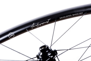 <h1>Wing Spokes</h1><i>After considerable testing across multiple spoke types (including analysis against competitor spokes), we found that the aerofoil profile of Pillar's Wing 20 spokes offer even further aerodynamic advantages over flat/bladed options.</i>