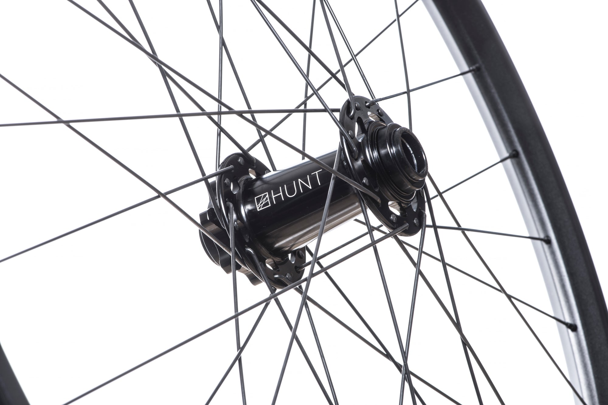 <h1>Front Hub</h1><i>We have gone all out on the front hub and beefed it up over our XC Wide and Trail Wide wheelsets. Featuring an oversized shell to accommodate larger and extremely durable bearings and 7075-T6 series alloy axles to increase stiffness. These hubs have been selected based on their ability to perform on the most aggressive trails. </i>