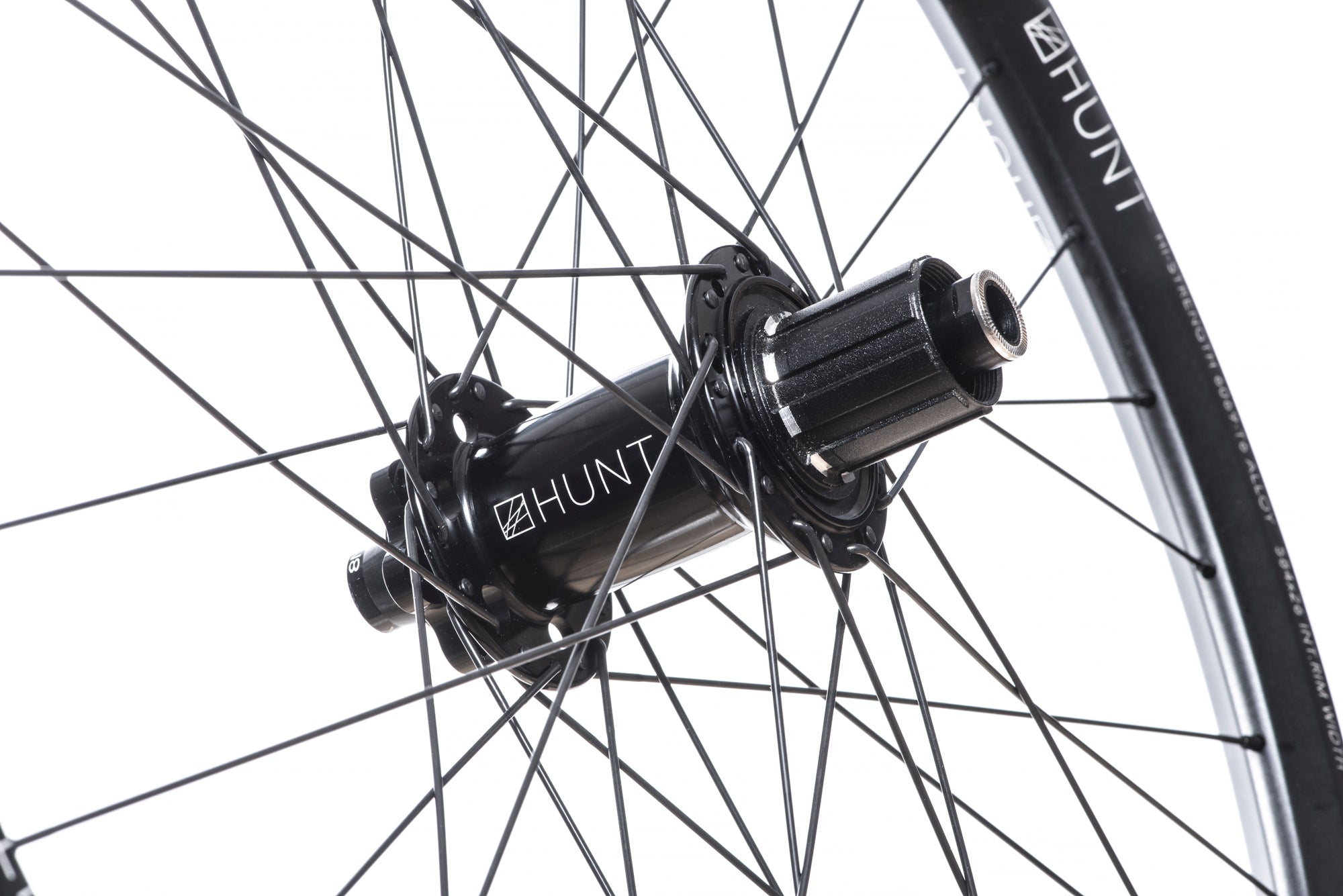 <h1>Rear Hub</h1><i>We create wheels to match the needs of riders who want the most from their wheels. The DH hubs have been chosen to increase stiffness, bearing durability and overall strength of your wheelset. On the rear, the RapidEngage MTB hubs with a superfast 3&deg; engagement, means you will be able to put the power down straight out of the corners.</i>