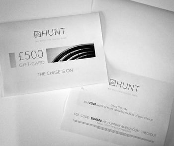 Hunt Bike Wheels Gift Card £10-£1000