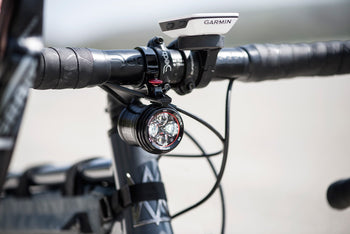 <h1>Exposure Revo Dynamo Light On Bike</h1>