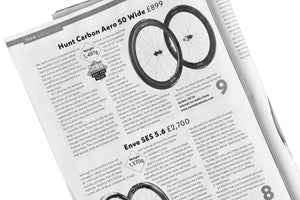 <h1>9/10 Review</h1><i>Cycling Weekly 9/10 Review for HUNT 50 Carbon Aero Disc Wheelset</i>