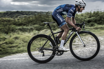 <h1>Weight</h1><i>The consequence of the fanatical attention to detail is an outstandingly light 1477g wheelset weight in a lightning fast stiff aero package. We've enjoyed free wheeling in the pack whilst all others are pedalling, is it cheating?</i>