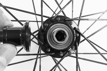<h1>Hub Shield</h1><i>Extra seals and shielding built-into all four hub caps and the freehub body. As you can see from the image in the gallery each hub cap, and the freehub body, have o-ring seals (the freehub cap has a lip seal). It's also important that the hub shell is designed to overlap the hub caps providing extra shielding from water ingress. Your Hunt Race Aero SuperDura wheels will provide many miles of fast hassle-free year round riding.</i>