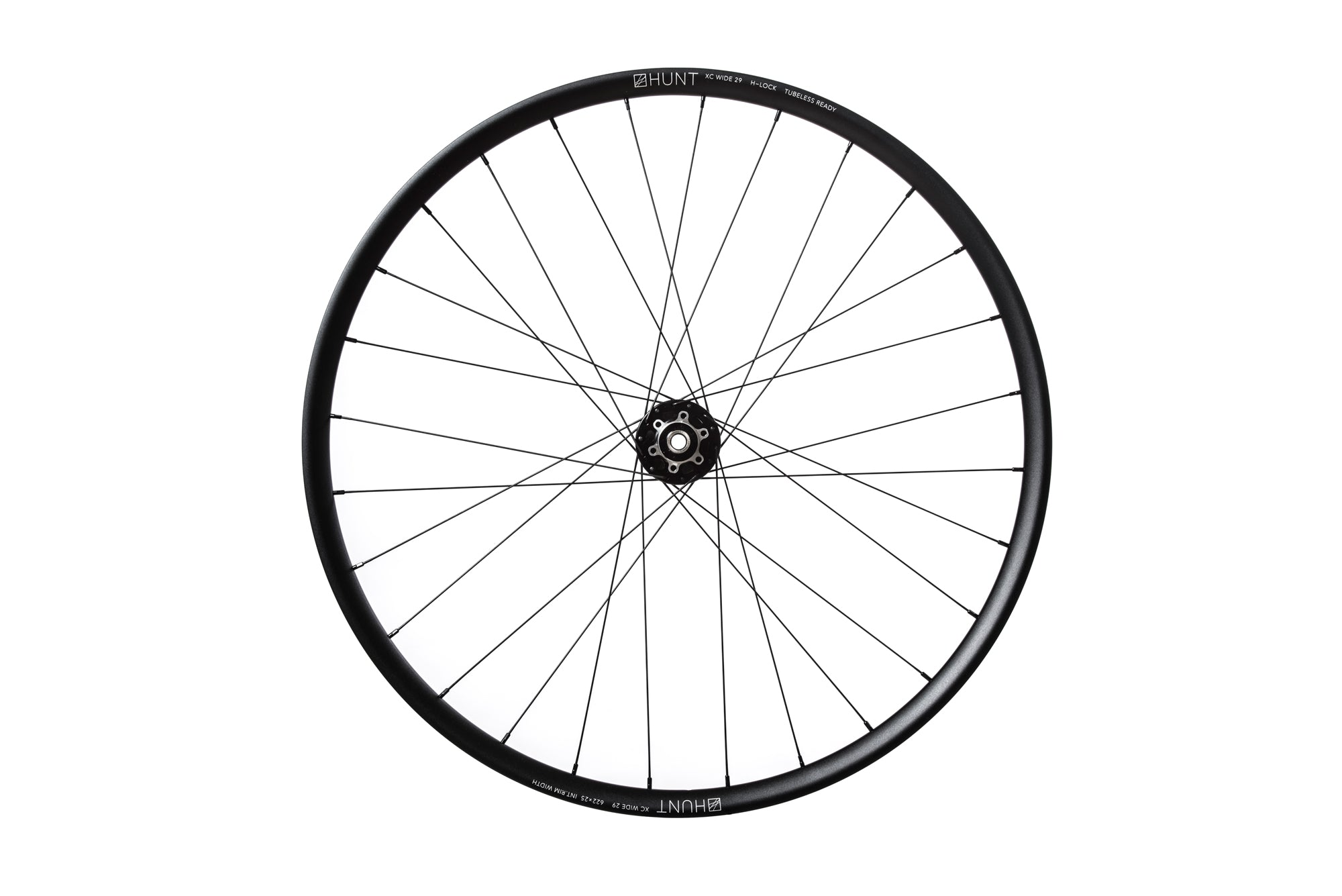 "<h1>Rims</h1><i>The XC Wide rim strikes the perfect balance between durability and performance making sure every ride is better than the last. The 6066 T6 alloy (welded) rim features a 25mm internal width to provide support during hard cornering or when throttling through techy sections. Optimized for 2.1""-2.35"" tyres, the XCWide won't hold you back.</i>"