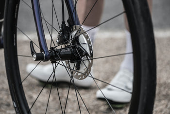 <h1>Adaptability</h1><i>Our wheels are seriously future-proof. We can adapt your wheels to any current axle standard, you just need to let us know what you require by filling in the simple form on the confirmation page after checkout. Please note these wheels will not work with the older 15mm front road TA standard.. As Shimano hydraulic brakes are appearing on many new bikes, we wanted riders to have the option so we went even more adaptable with centre-lock hubs and 6 bolt adaptors included.</i>