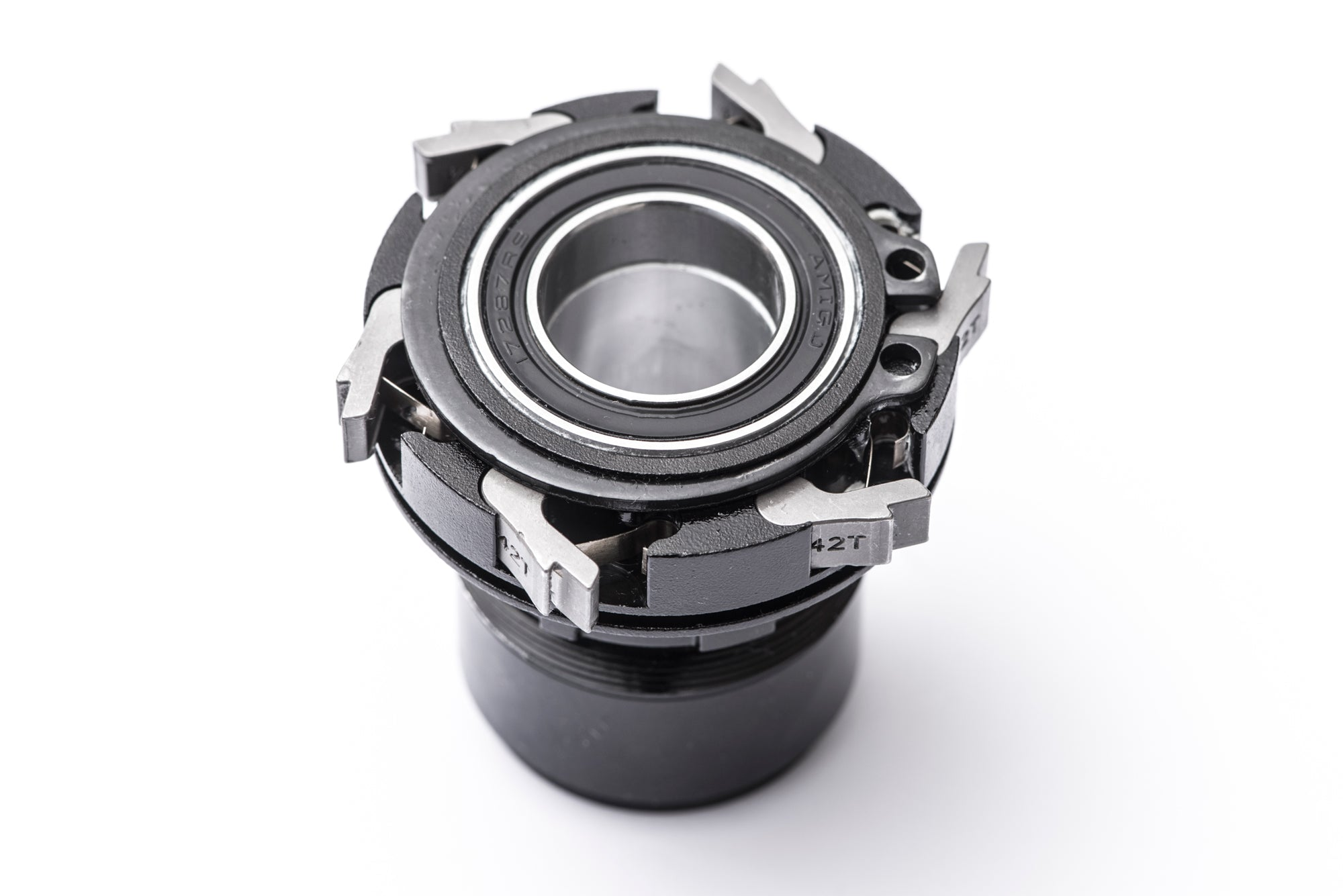 <h1>Freehub Body</h1><i>Choose between SRAM/Shimano 8/9/10/11 or SRAM XD to be fitted to your TrailWide Wheels. Each freehub features six individual MultiPawls to ensure strong engagement, even in the grimmest conditions.</i>