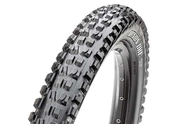 "Maxxis Minion DHF 2.5"" WT EXO Front / Maxxis High Roller II 2.5"" WT EXO Rear Tubeless Tyre Combo"