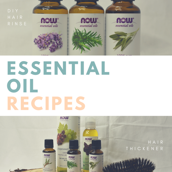 DIY Essential Oil Recipes - Hair Remedies