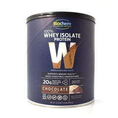 Biochem 100% Whey Protein Isolate Powder Chocolate - 1.9 lb