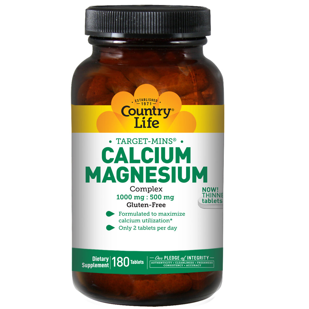 Calcium Magnesium Complex 1000mg : 500mg - 180 Tablets